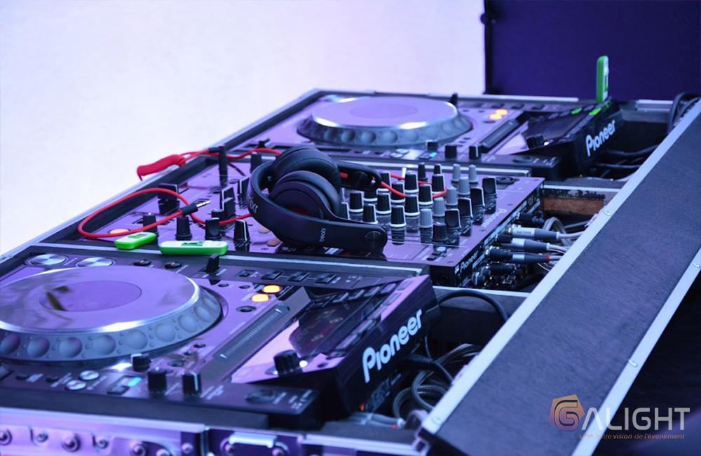 Régie DJ professionnelle pioneer Vaucluse DJ prestige